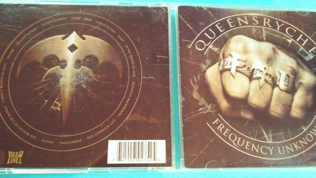 Queensrÿche ‎– Frequency Unknown, CD 2013 - USA