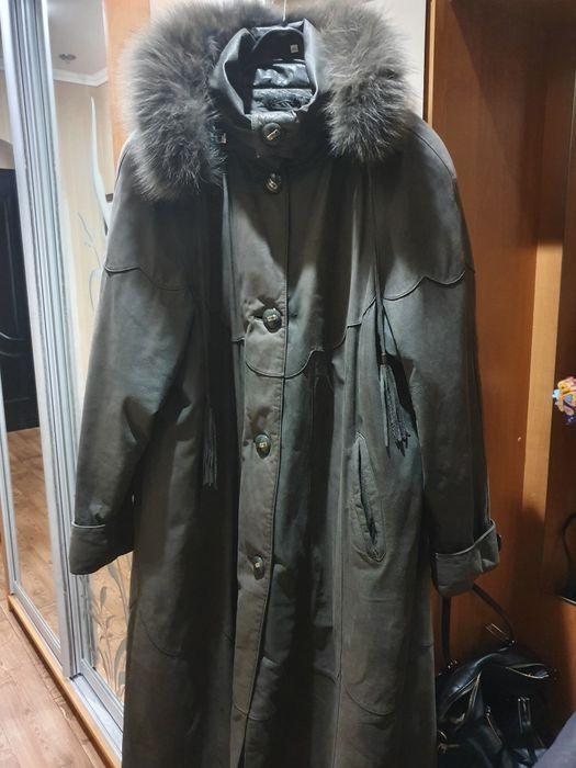 Пальто шкіряне зимове Кривой Рог - изображение 1