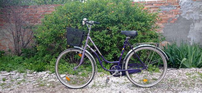Городской велосипед на планетарной втулке