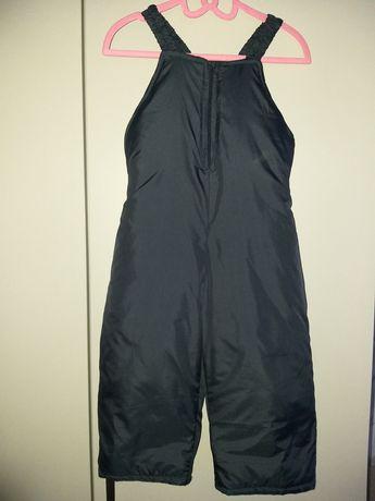Spodnie narciarskie na sanki, rozmiar 86