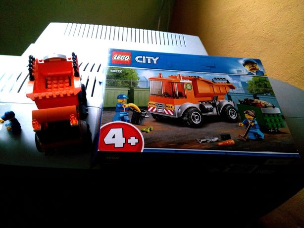 LEGO city 60220 śmieciarka