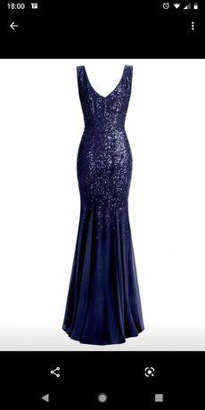 Suknia wieczorowa Goddiva roz. 36