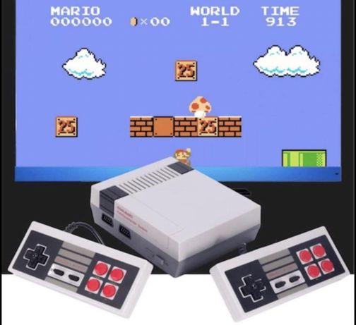 Consola Retro com 620 Jogos dos anos 80 e 90