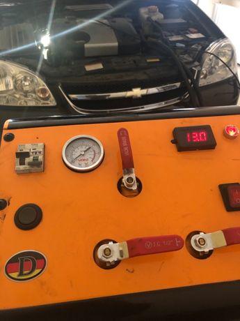 Промывка радиатора печки без снятия