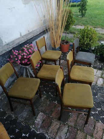 Krzesła PRL Radomsko vintage