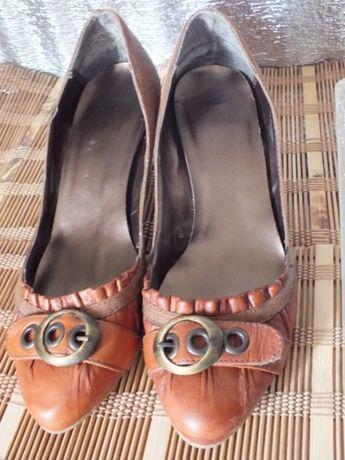 Туфли женские кожаные 41 размер