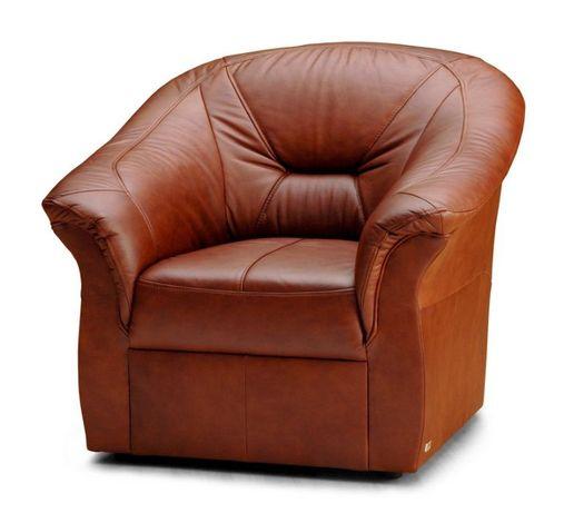 Fotel FRESH prawdziwa naturalna skóra PRODUCENT
