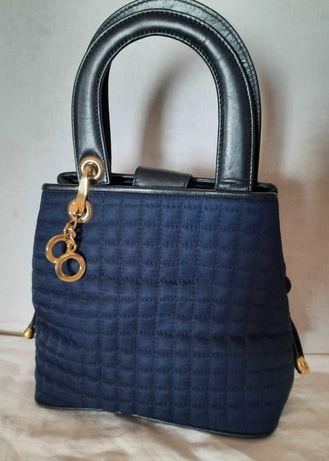 Mala de marca italiana Solance 1956 em azul escuro