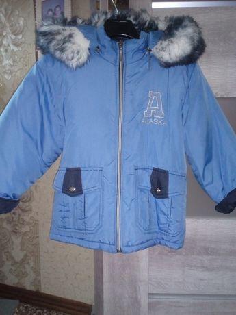 Куртка зима на хлопчика