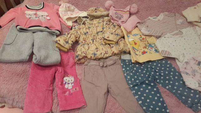 Пакет детских вещей на 12-18 месяцев