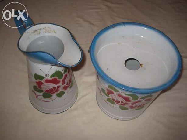 balde e jarro lavatorio