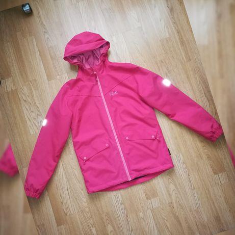 Демисезонная куртка штормовка Jack Wolfskin мембрана дождевик рост164