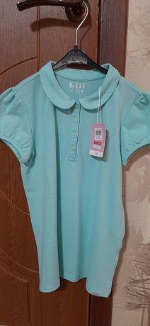 Продам футболку - поло для девочки