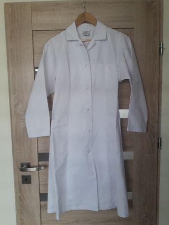 Biały fartuch/kitel laboratoryjny, medyczny