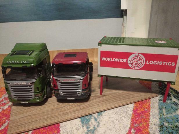Scania Bruder для моделистов