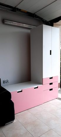 Szafa z szufladą dla dziewczynki IKEA