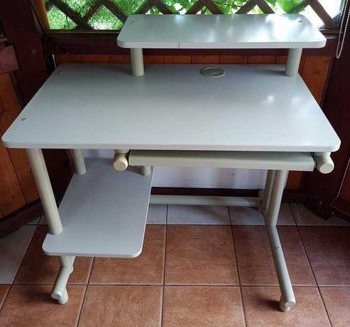 Biurko pod komputer białe