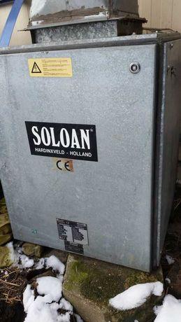 Wyciąg lakierniczy wentylator nadmuch Soloan Holland !