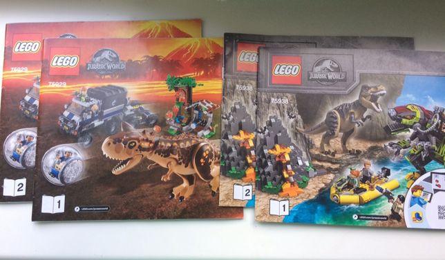 Инструкции лего 75938 75929 75927 10758 Jurassic world конст