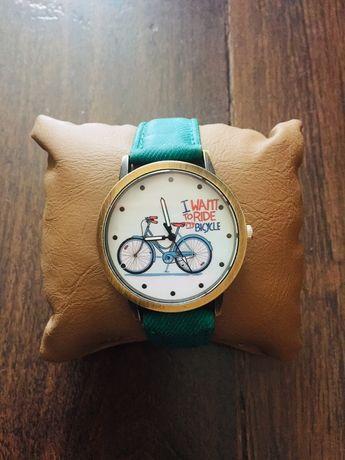 Часы карта велосипед