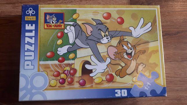 Puzzle Trefl -Tom i Jerry 30 elementów