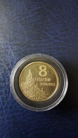 Moneta zastepcza 8 talarów fortecznych twierdza Kłodzko