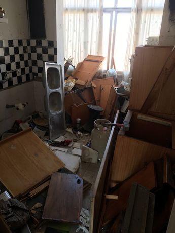 DEMOLICÇÃO E RECOLHA/ demolition and collection/moveis lixo entulho ma
