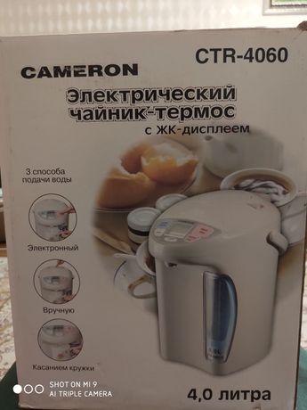 Электрический Термос Чайник Cameron с жк дисплеем