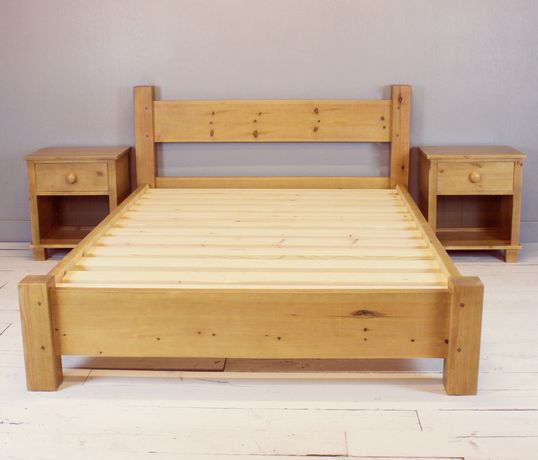 Stelaż łóżka (lite drewno)