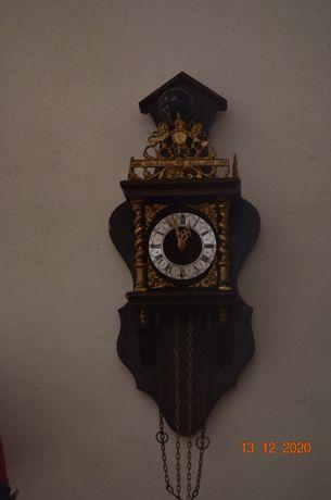 Zegar wiszący sprawny i kompletny