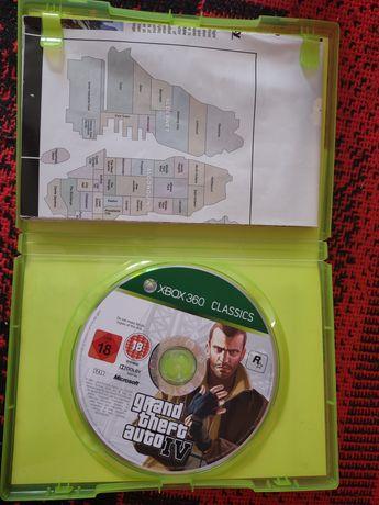 Gra GTA IV  na Xbox 360