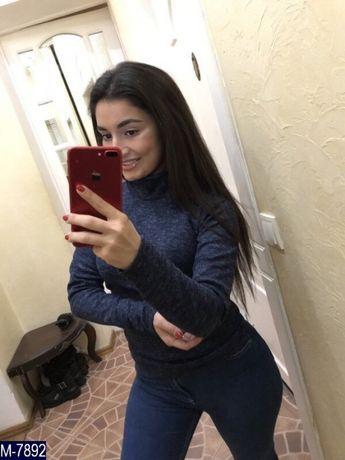 Женский теплый гольф (Ангора leо)
