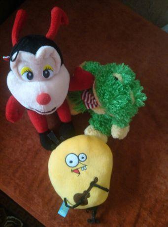Пакет фирменных мягких игрушек, мягкие игрушки лот