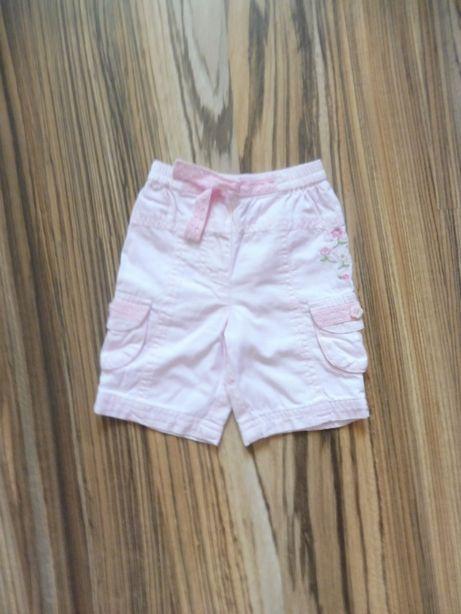 r 62 spodnie różowe spodenki