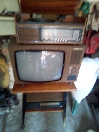 Telewizor Unitra,radio snieżka,radio Narew