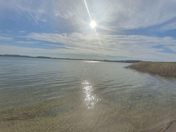 Działka budowlana, rekreacja, jezioro, plaża, wypoczynek