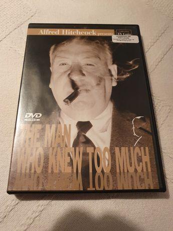 """Filme DVD """"O Homem Que Sabia Demasiado"""""""