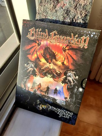 DVD Blind Guardian concerto Imaginations through the looking Glass
