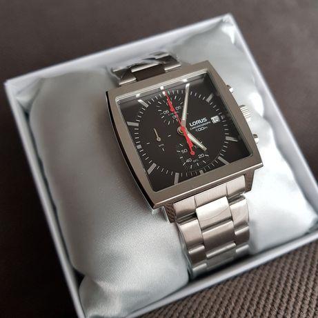 zegarek LORUS RM349FX9 kwadratowa koperta