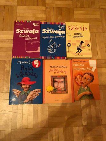 Monika Szwaja zestaw 6 książek