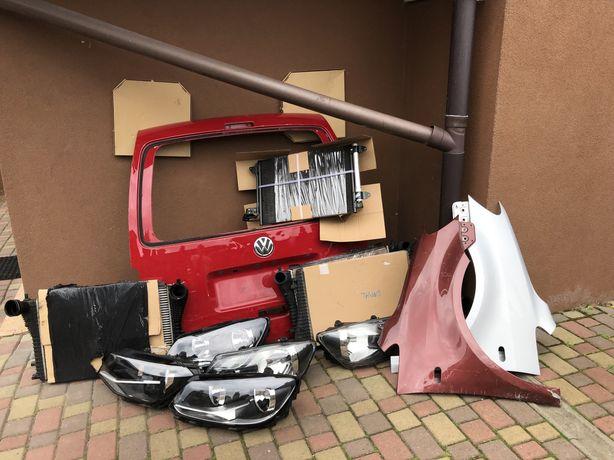 Volkswagen Touran/Volkswagen Caddy бампер радіатор двері кришка фара