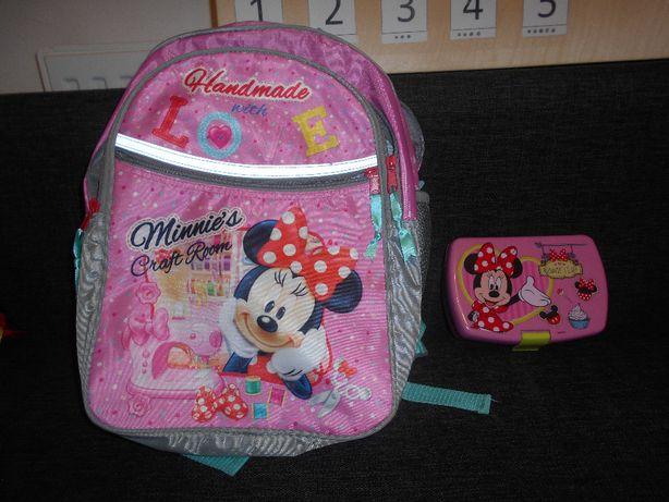 Plecak Myszka Minnie na wycieczkę, super lekki disney+ gratis