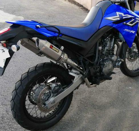 Linha escape nova Yamaha XT 660 R X (04-16)