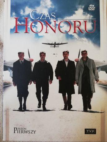 Czas honoru DVD cztery sezony w etui (z dostawą)
