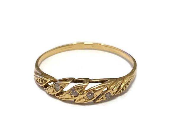 Wyrób jub. Używany - Złoty pierścionek 583 / 0,94g
