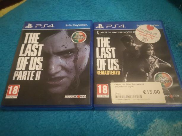 Jogos Last of us 1 e 2