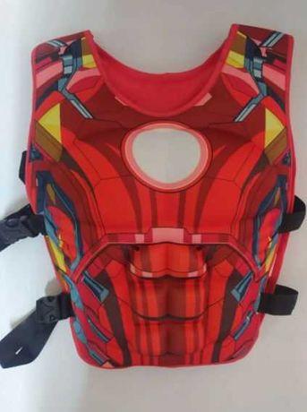 Kamizelka do pływania, kapok dziecięcy Iron Man