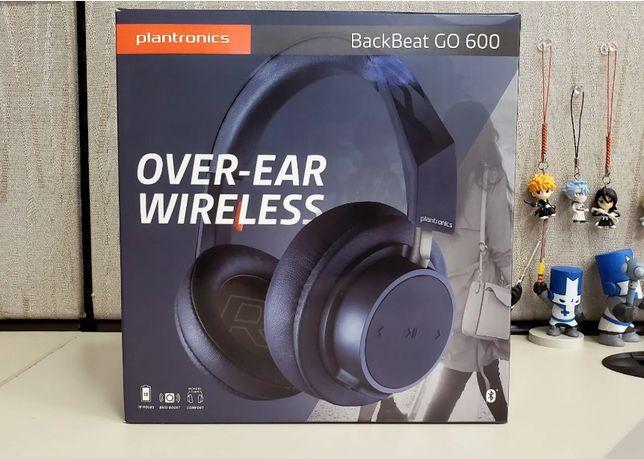 NOWE słuchawki bezprzewodowe Plantronics Backbeat GO600