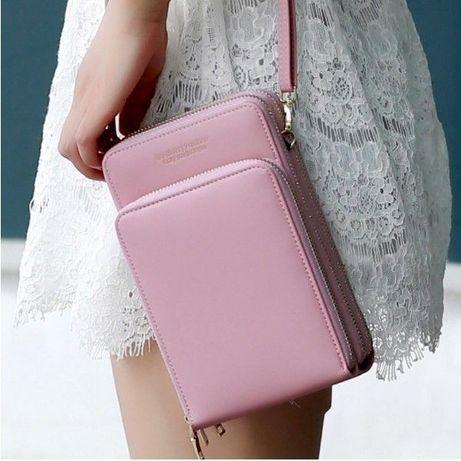 Женская сумочка Baellerry на ремешке. 7 модных цветов. Вместительная.