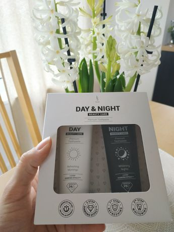 Zestaw naturalnych past do zębów dzień i noc (DuoLife Day & Night)